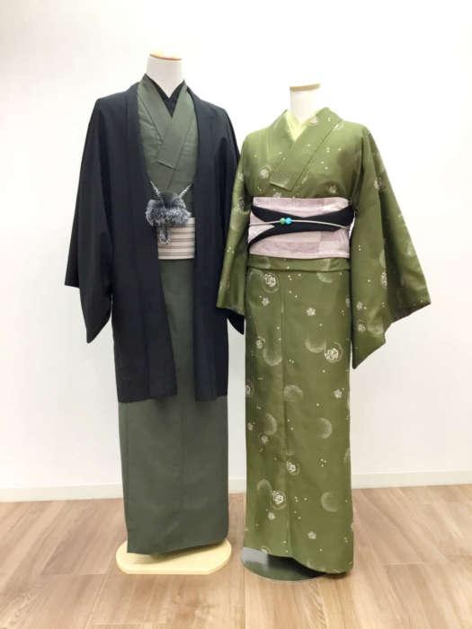 京都駅前店バレンタイン着物コーデ