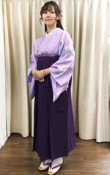 袴をもっと身近に♪可愛い袴コーディネート