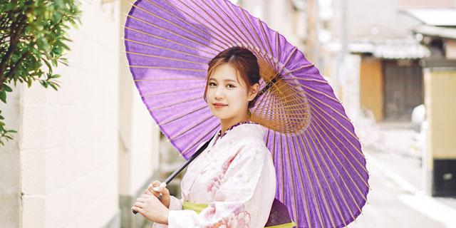 京都着物レンタル京越 番傘