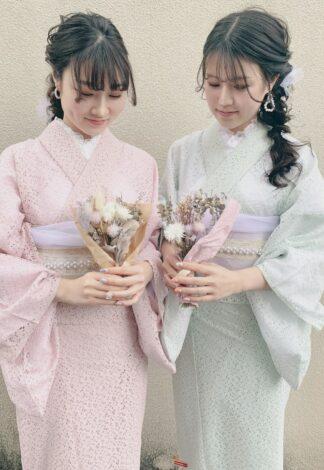 着物レンタル京越 レース着物・浴衣プラン