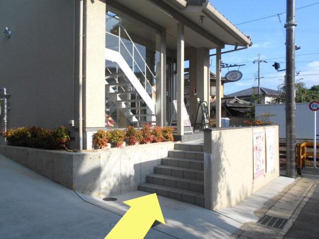 京都着物レンタル京越 嵐山店への道のり