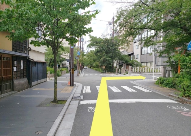 京都着物レンタル京越 河原町店への道のり