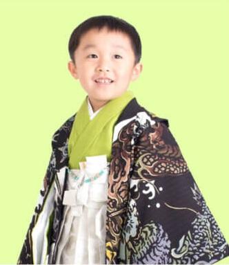 5歳男の子七五三着物