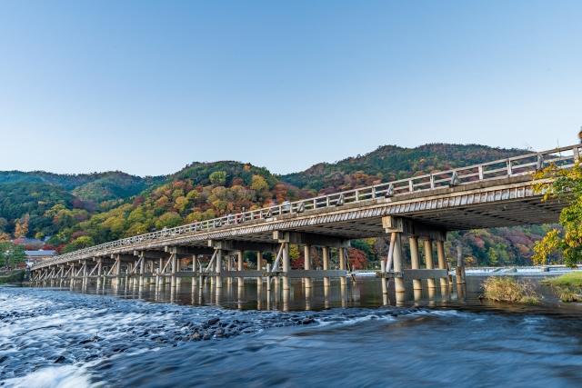 人気の観光地『嵐山』は朝がおすすめ♪
