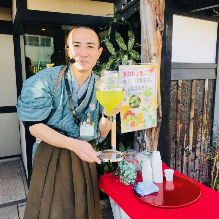 茶ムライ?!茶本舗のお茶・お菓子の試飲・試食会