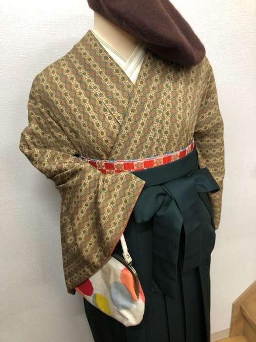アンティーク着物×袴のススメ♪