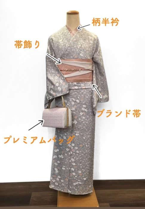 アンティーク着物コーディネートの詳細