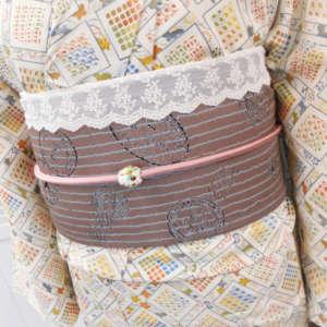 嵐山店アンティーク着物と帯