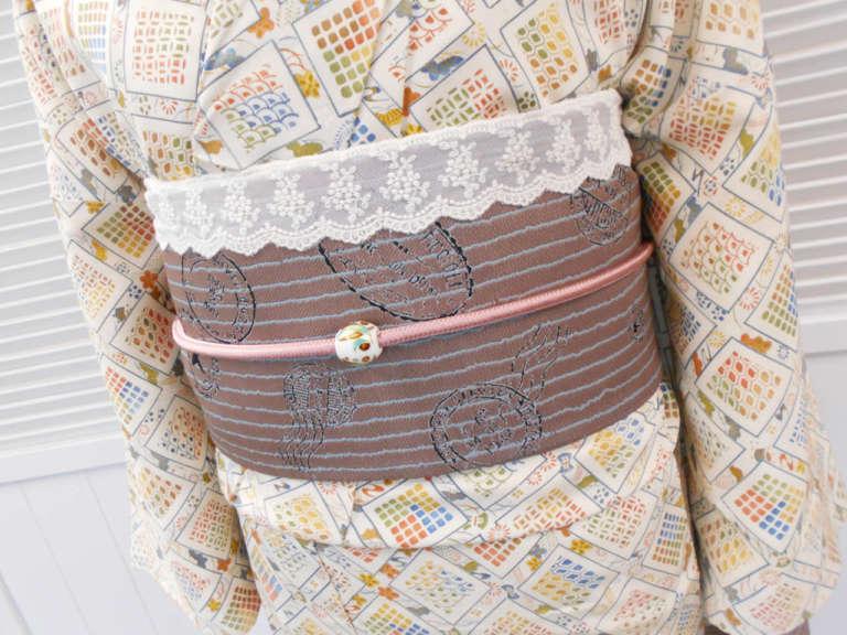 嵐山店でも今人気のアンティーク着物がはじまりました!