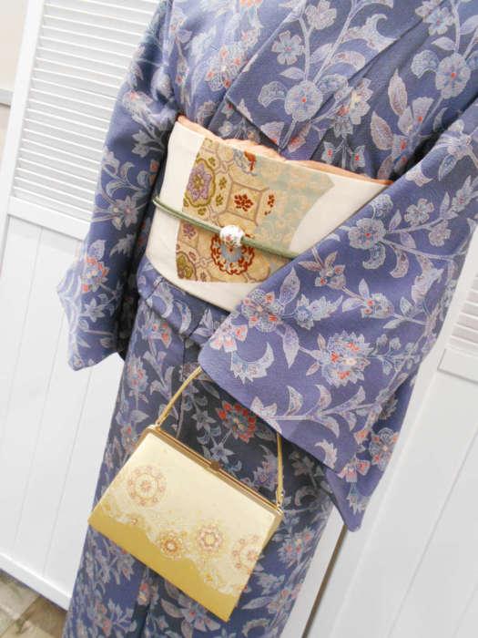 嵐山店アンティーク着物と名古屋帯