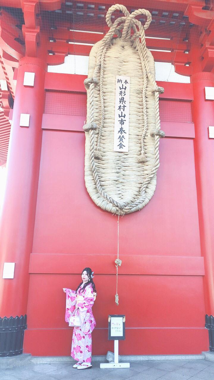 雷門だけじゃない!浅草の大迫力写真スポット「宝蔵門」