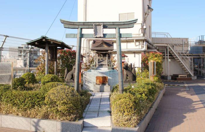 浅草ハレテラスの出世稲荷神社