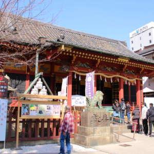 浅草神社の社殿