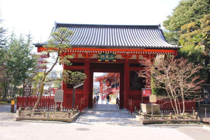 浅草寺の二天門