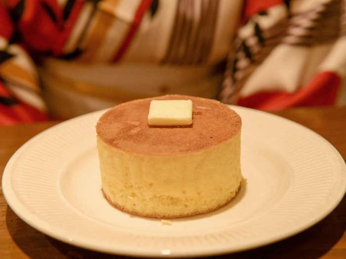 分厚いホットケーキ
