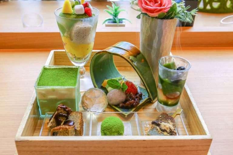 アクセス便利な京都駅の抹茶スイーツ専門店 茶筅