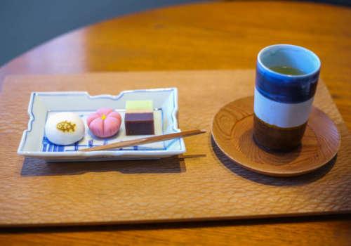 ZEN CAFEの季節の和菓子