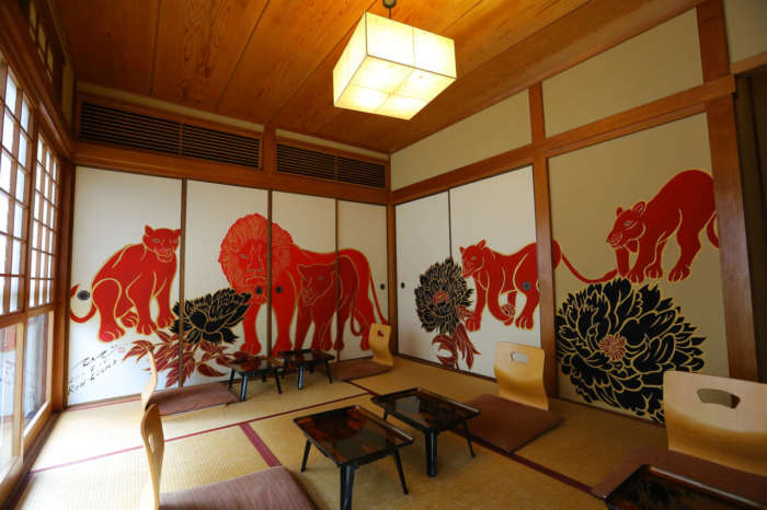 イクスカフェ京都嵐山本店の和室