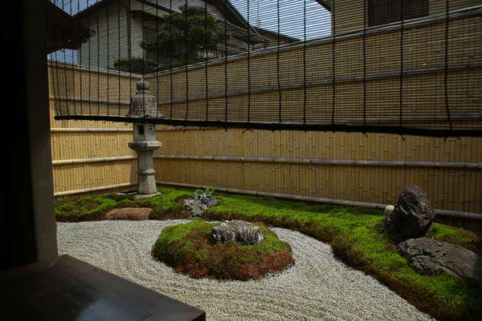 イクスカフェ京都嵐山本店の日本庭園