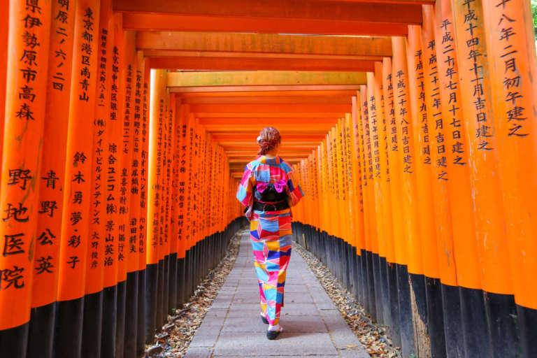 世界中の人々を虜にする京都随一の観光名所 伏見稲荷大社