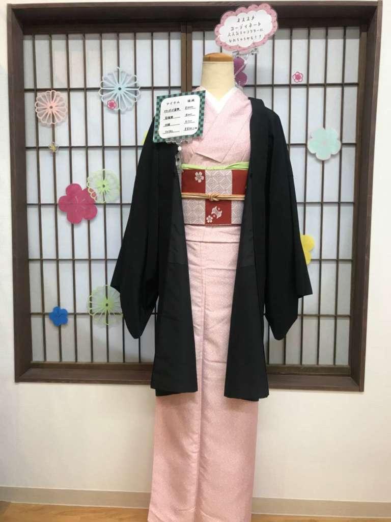 鬼滅の刃「竈門 禰豆子」コーデ