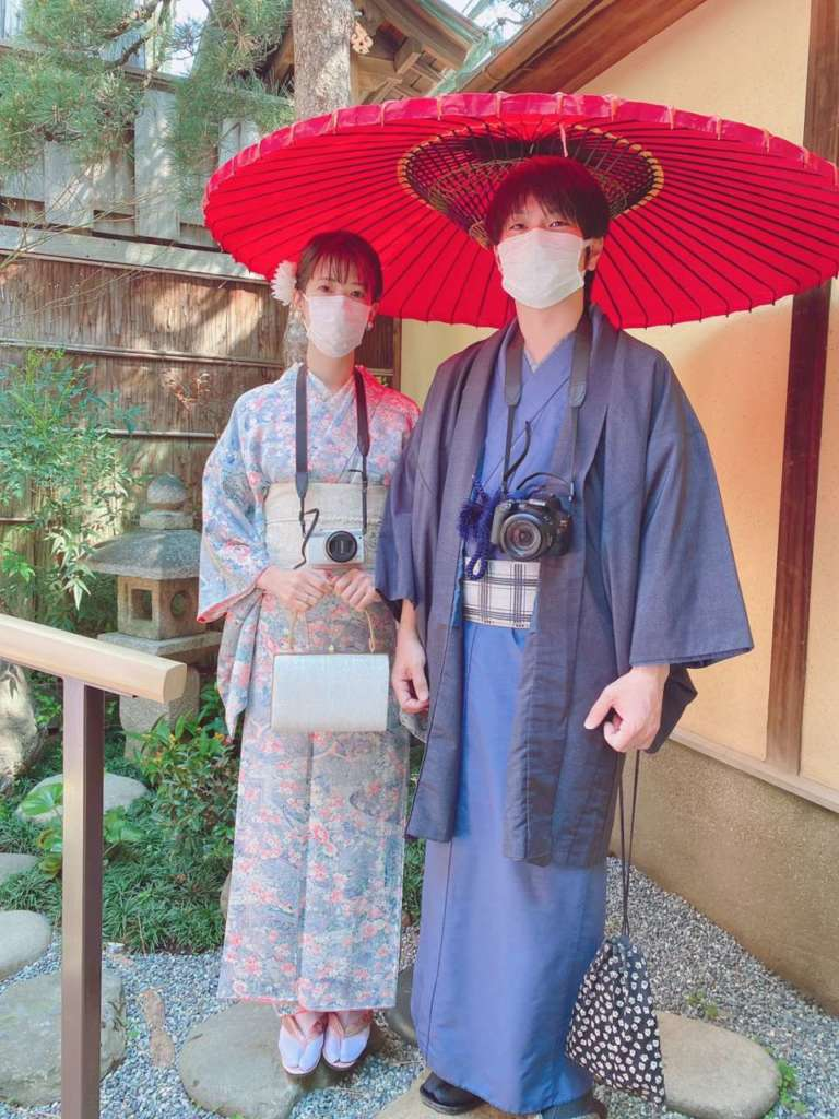 祇園本店にお越しのお客さまのお写真をご紹介します