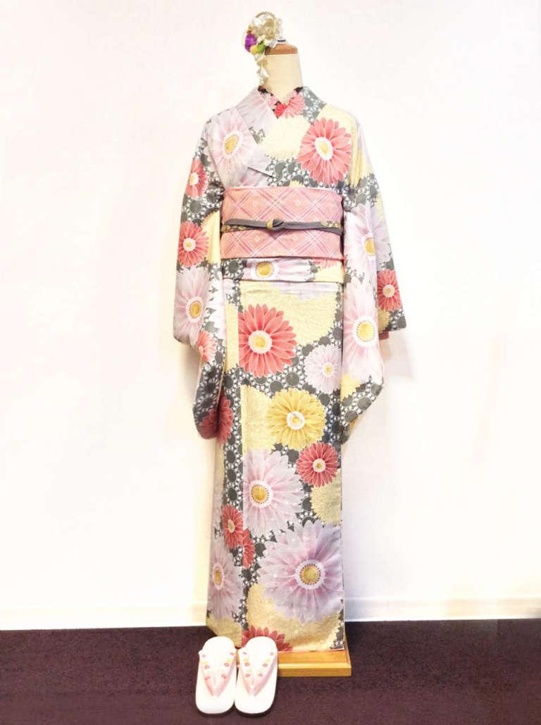 祇園新橋店よりハイランク着物を中心に着物コーデを4つご紹介します♪