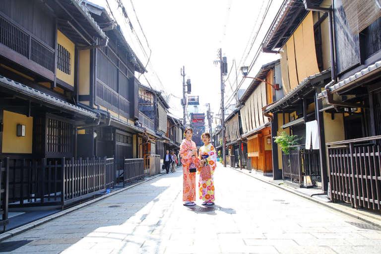京都の歴史が刻まれた祇園発祥の地 祇園新橋