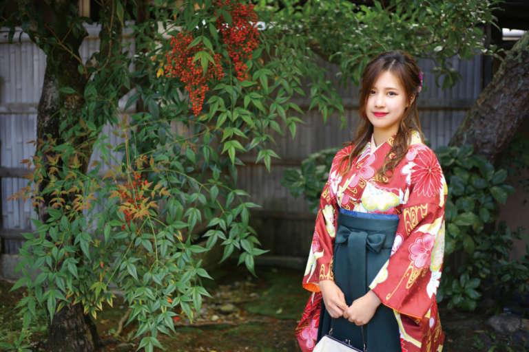 卒業式中止で袴が着れなかった方、京越で袴をレンタルしませんか?