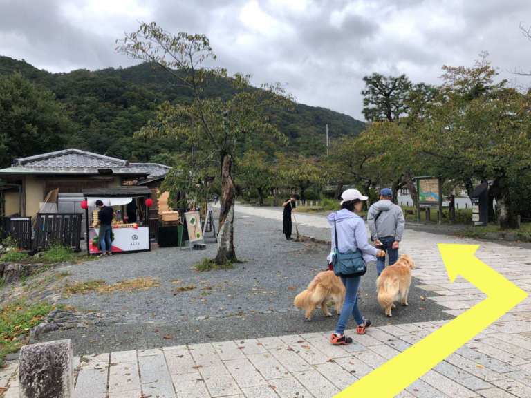 嵐山中ノ島公園