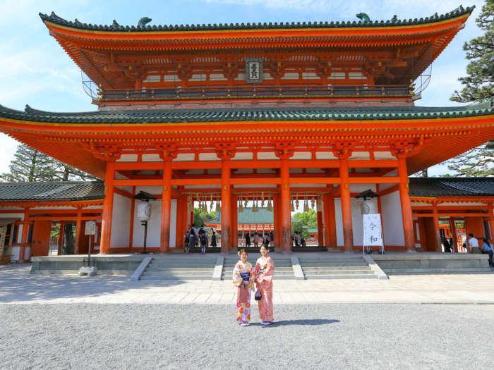 平安神宮楼門