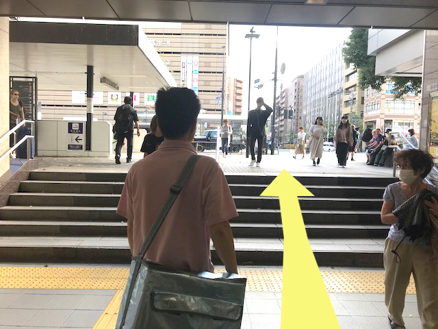 JR京都駅八条東口