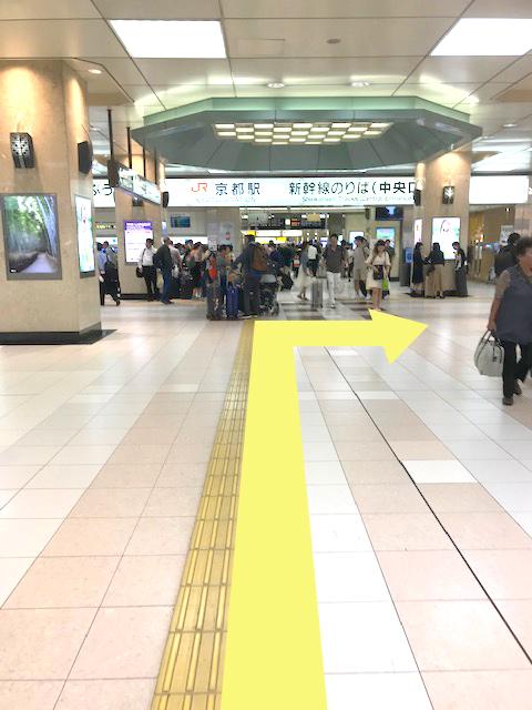 京都駅新幹線改札口