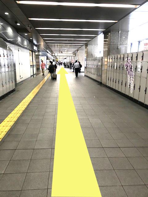 京都駅コインロッカー