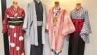 着物と袴を着用したトルソー