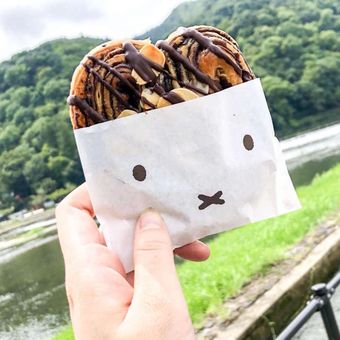 ふぃーみっふぃーのパルミエ(チョコレート) 260円 (税別)