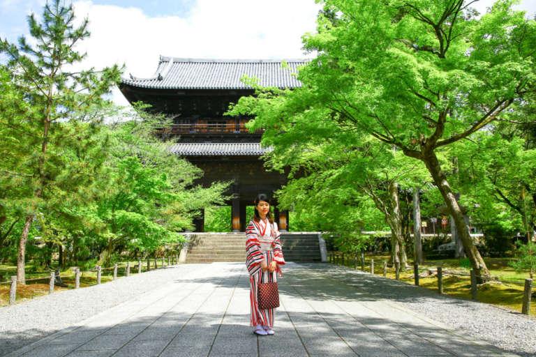 レトロな水路閣は着物も映えるフォトスポット 南禅寺