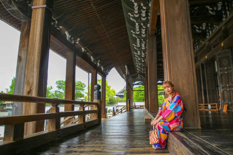 壮大な伽藍が立ち並ぶ京都駅近くの世界遺産 西本願寺
