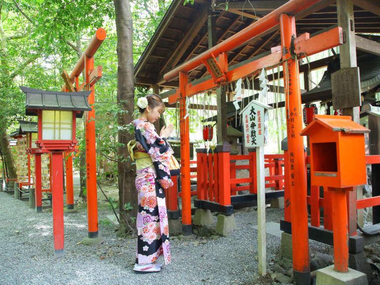 京都・嵐山の恋愛パワースポットといえばここ! 野宮神社