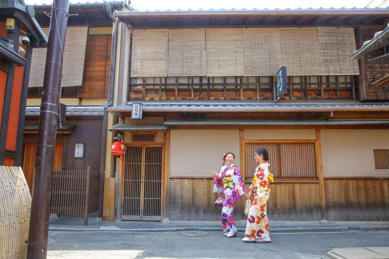 着物や浴衣で着飾り訪れたい京都の花街 先斗町