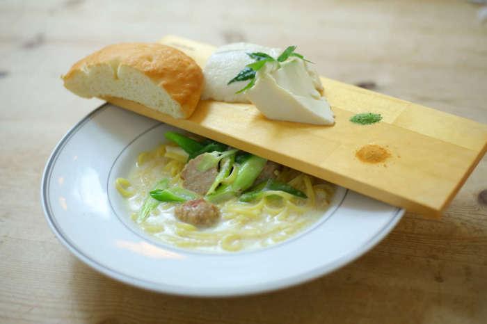 お豆腐パスタ