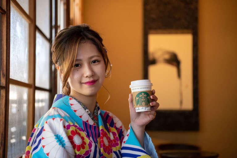 世界初!古民家を改装した和テイストのスタバ スターバックスコーヒー 京都二寧坂ヤサカ茶屋店