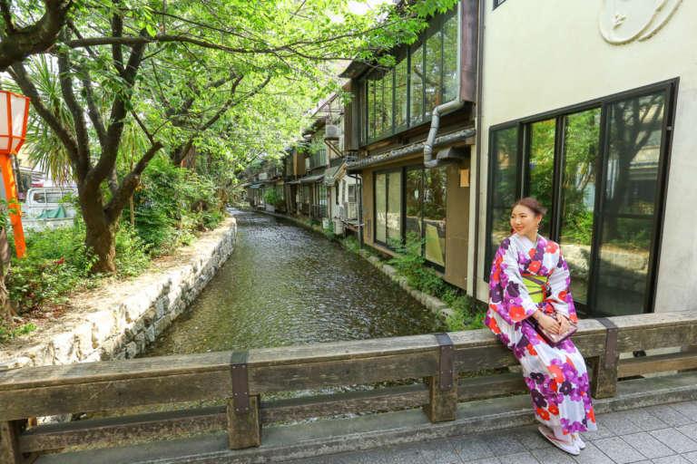 京都の四季の風景やグルメを満喫するならここ! 高瀬川