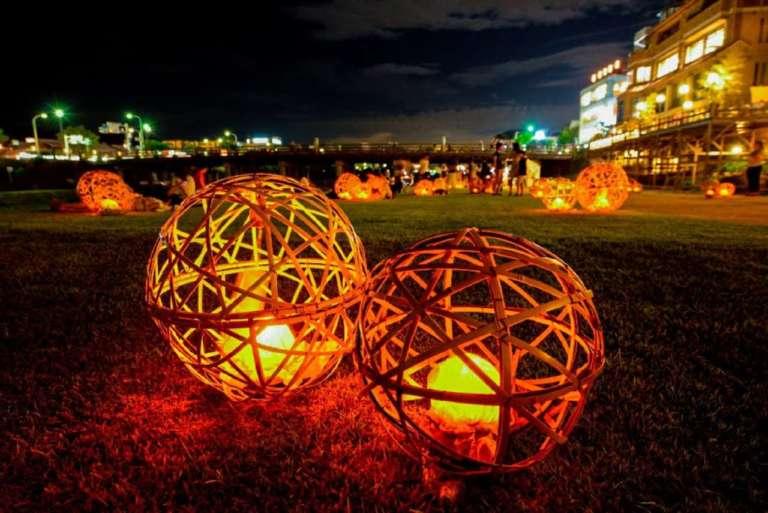 京の七夕 風鈴灯