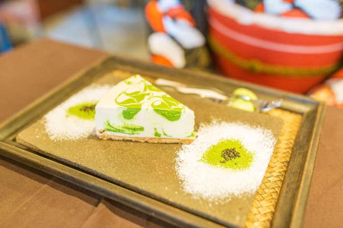 カフェ天のレアチーズケーキ