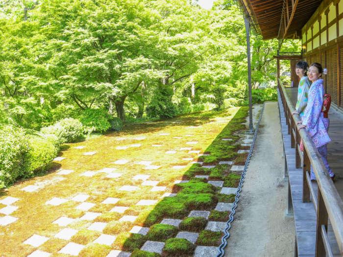 東福寺方丈庭園「八相の庭」