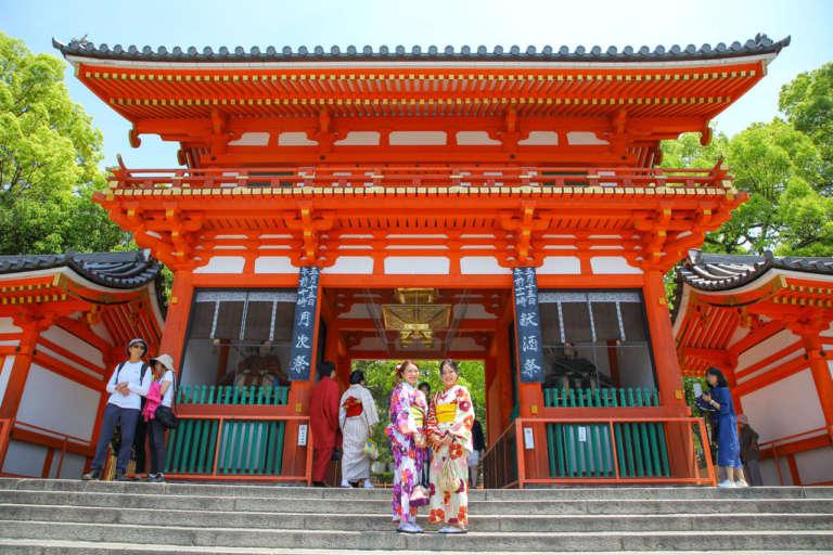 京都の舞妓さんも通う美と恋のパワースポット 八坂神社