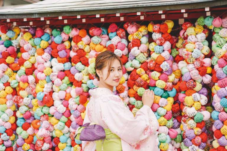 インスタ映えは京都最強!?着物で行きたい話題のスポット 八坂庚申堂(京都市東山区)