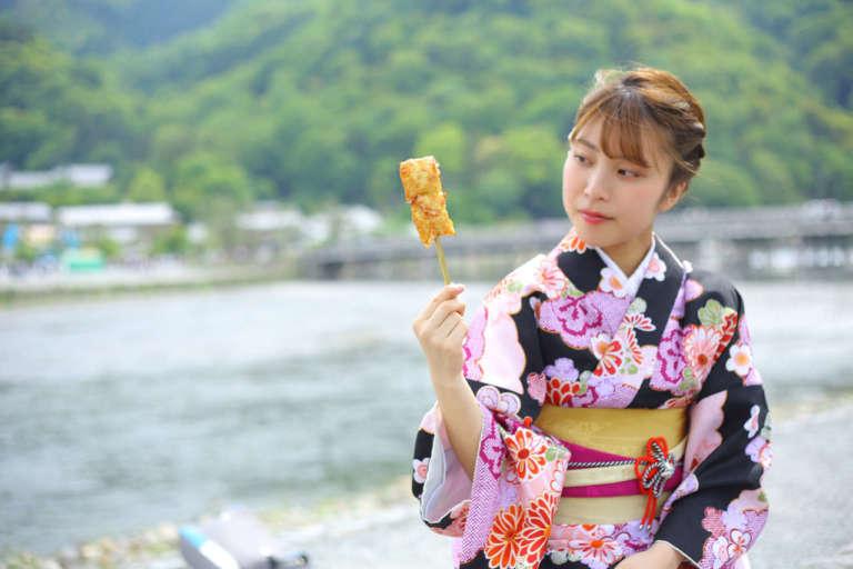 京都・嵐山散策の途中で気軽に立ち寄りたい 良彌 本通り店